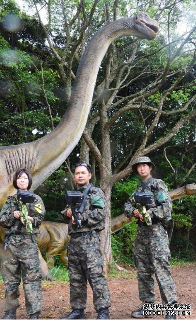 遍地恐龙,荒岛求生!日本国内首个AR游乐设施登陆长崎
